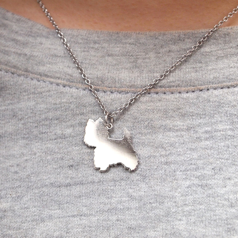 "Max ""Westie"" Pendant Pendant - A Gilded Leaf jewelry"