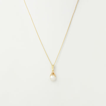 Delicate Pearl Drop Necklace