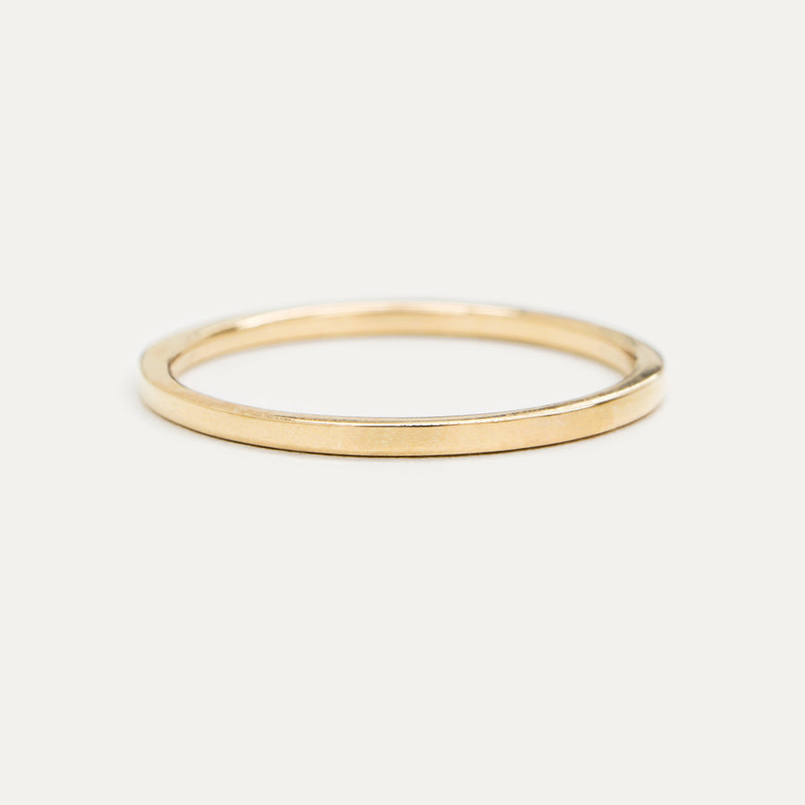 Flat Gold Ring 1.20MM