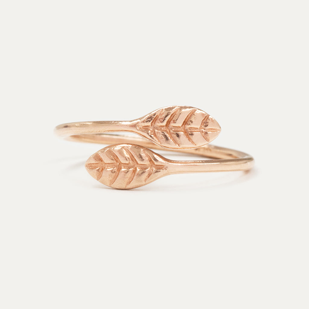 A Gilded Leaf Open Ring Rings - A Gilded Leaf jewelry