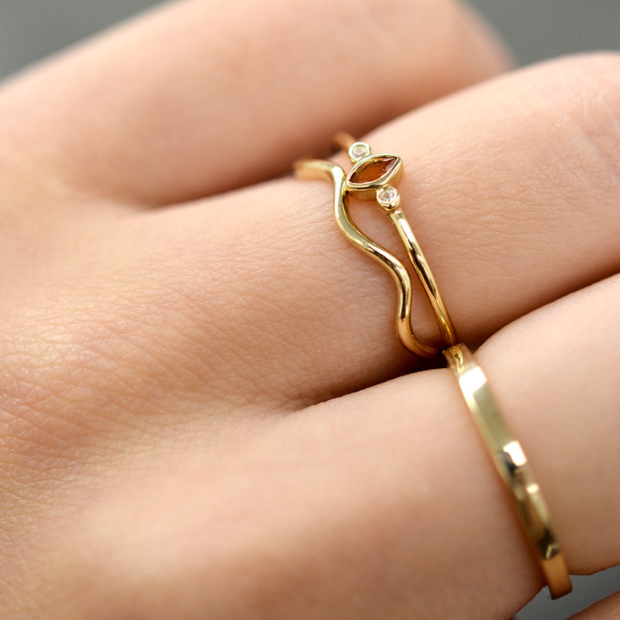 Tula Wave Ring