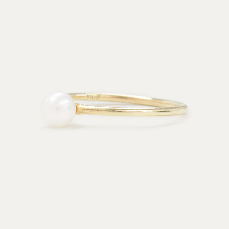 Oro Pearl Plain Ring Rings - A Gilded Leaf jewelry