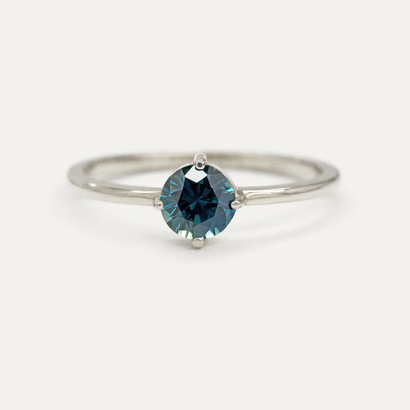 Gemstone Sparkler Ring (Multiple Gemstone Options)
