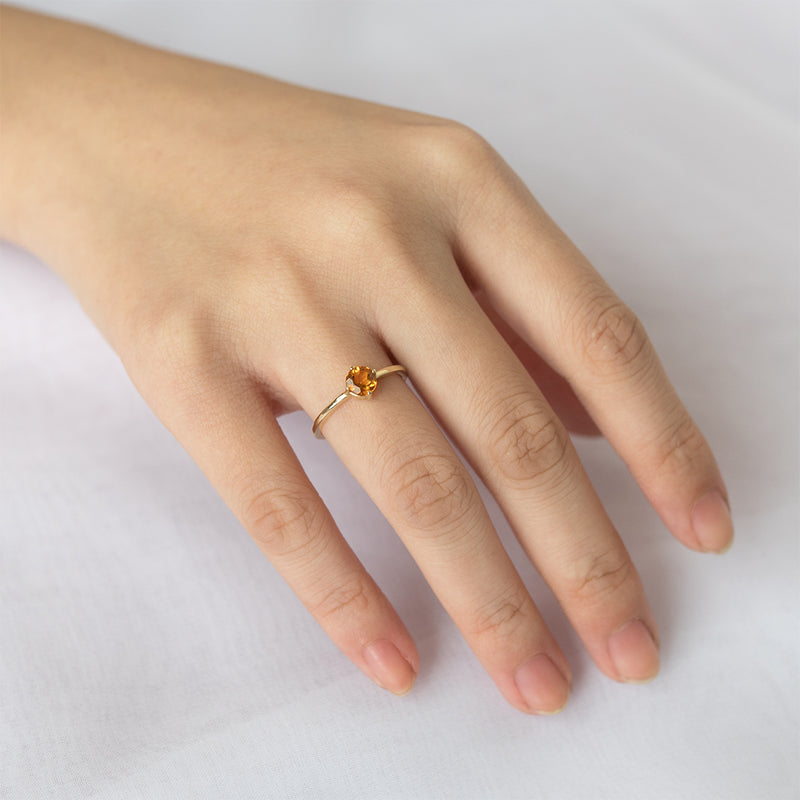 Citrine Sparkler Ring - Sample