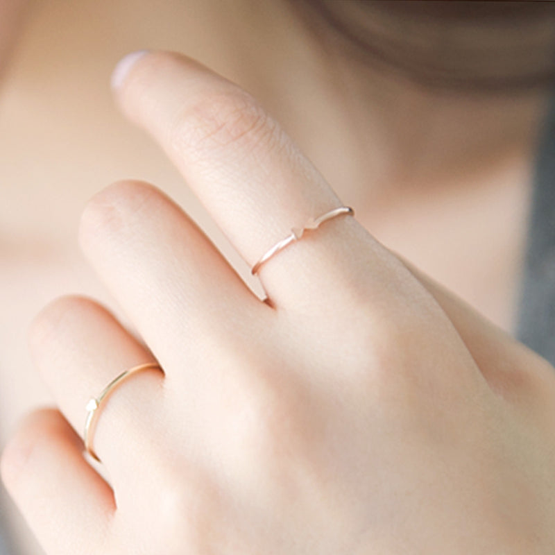 Heart Bow Ring Rings - A Gilded Leaf jewelry