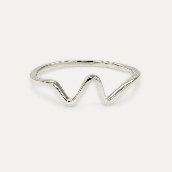 Heartbeat Ring Rings - A Gilded Leaf jewelry