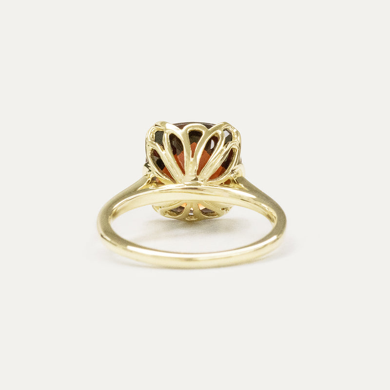 Rosellen Garnet Ring Rings - A Gilded Leaf jewelry