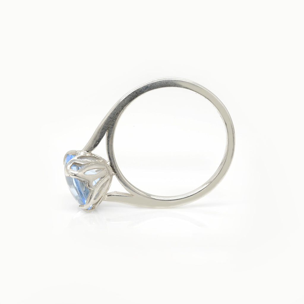 Eva Cabo Ring - Blue Topaz Rings - A Gilded Leaf jewelry