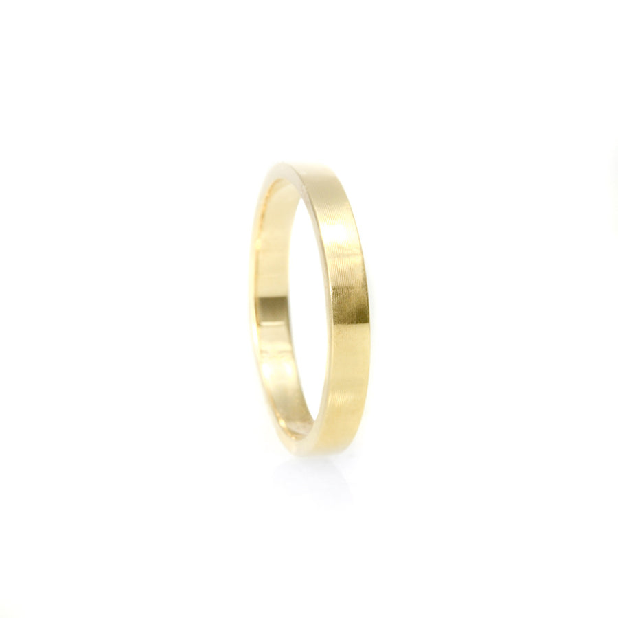 Classic Flat Band 2.75MM - Yellow Gold