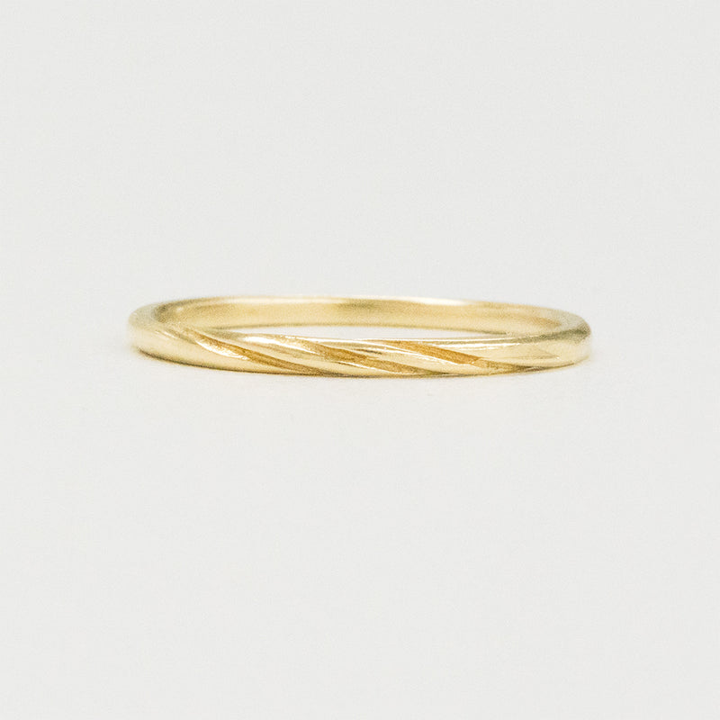 Dainty Mobius Twist Ring Rings - A Gilded Leaf jewelry