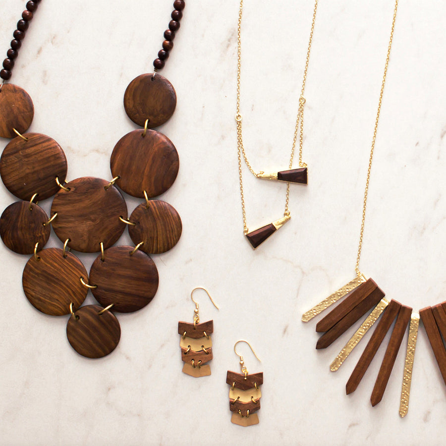 The Right Path Necklace Necklace - A Gilded Leaf jewelry