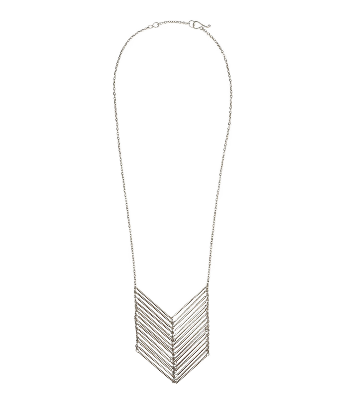 Waterfall Chevron Necklace