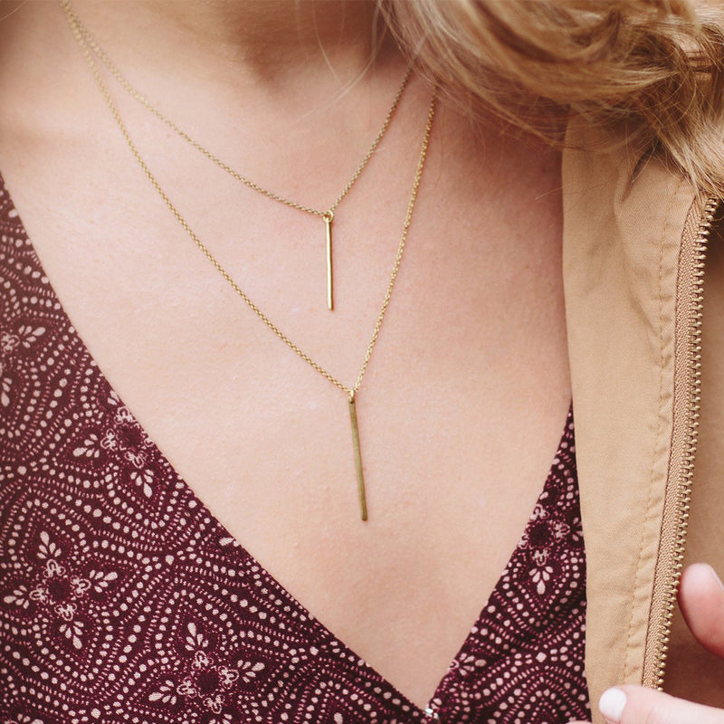 Sierra Necklace Necklace - A Gilded Leaf jewelry