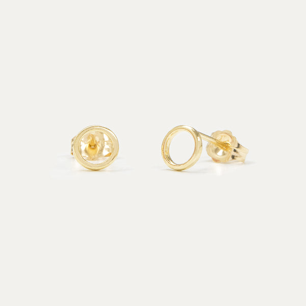 The Ohs Stud Earrings Earrings - A Gilded Leaf jewelry