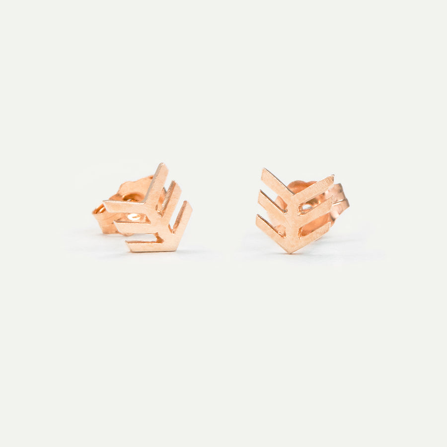 Tiny Arrow Studs Earrings - A Gilded Leaf jewelry