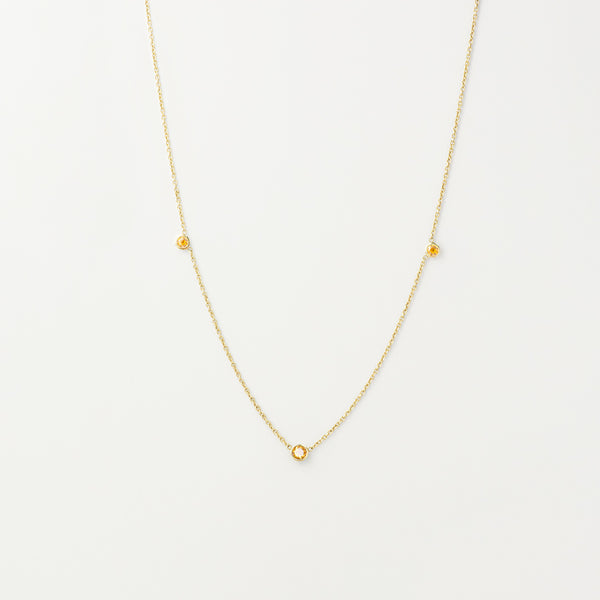 Orion's Citrine Necklace