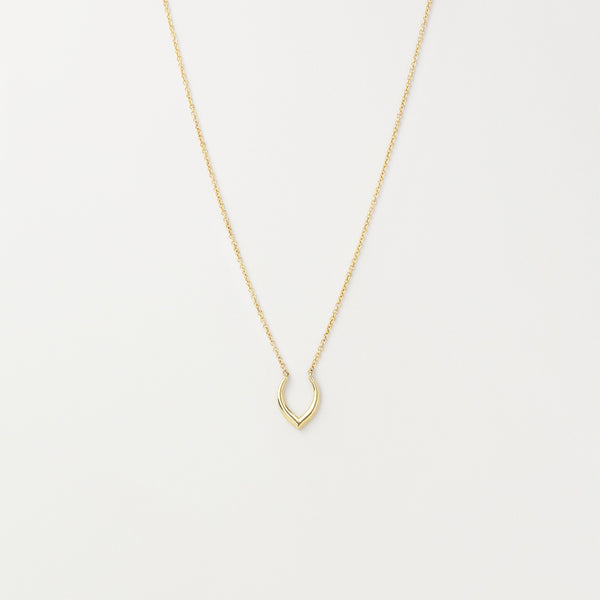 Minimal Deer Antler Necklace