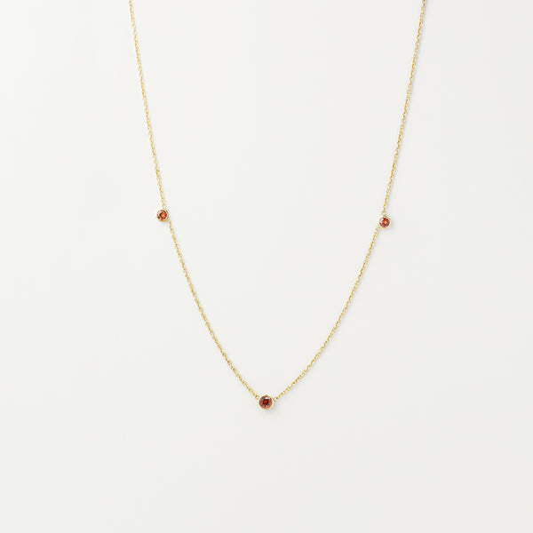 Orion's Red Garnet Necklace