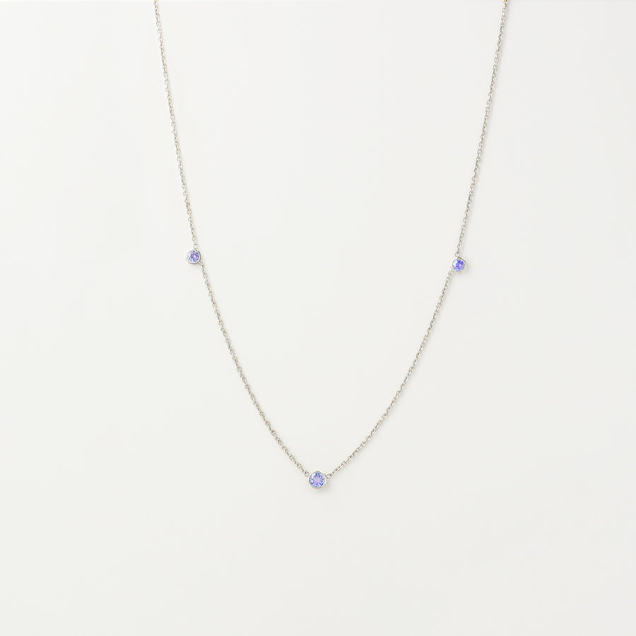 Orion's Tanzanite Necklace Necklace - A Gilded Leaf jewelry