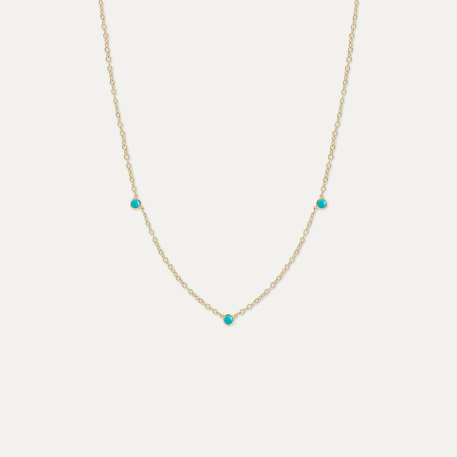 Orion's Turquoise Necklace Necklace - A Gilded Leaf jewelry