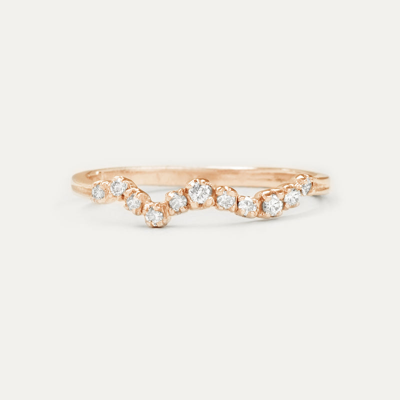 Constellation Diamond Ring
