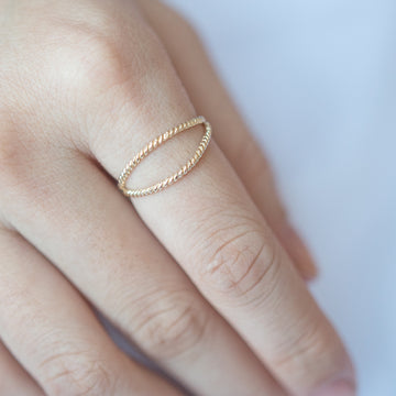 Twisted Split Ring