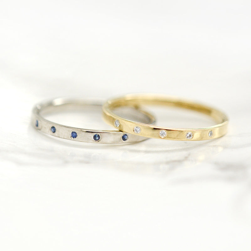 Astra Diamond Ring Rings - A Gilded Leaf jewelry