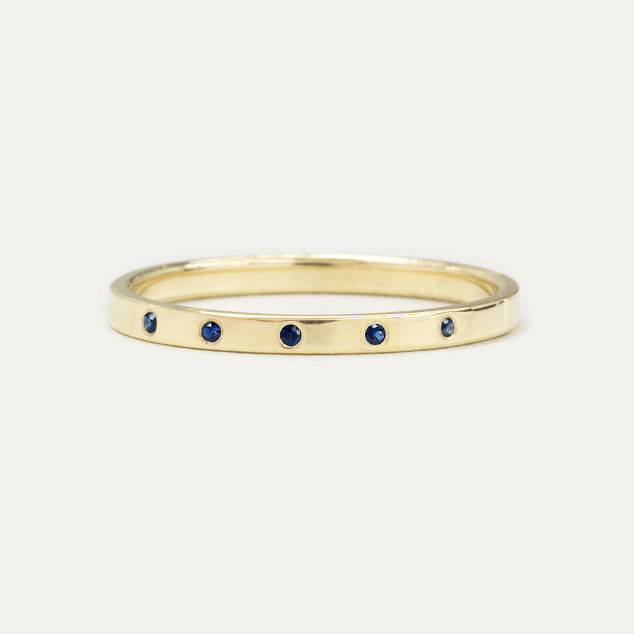Astra Simple Sapphire Ring