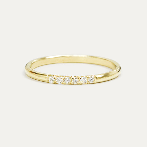 Diamond Accent Pave Ring Rings - A Gilded Leaf jewelry