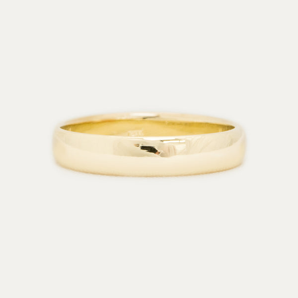 Classic Half Round Band - 4 MM - Sample