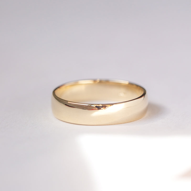 Classic Half Round Band - 6 MM