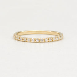 Classic Diamond Eternity Band Rings - A Gilded Leaf jewelry