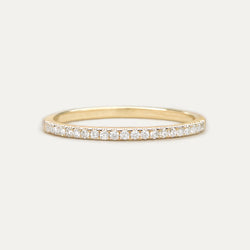 Classic Diamond Half Eternity Band - Sample