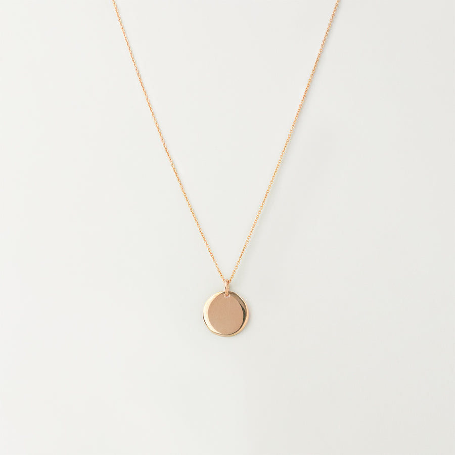 Disc Tag Necklace