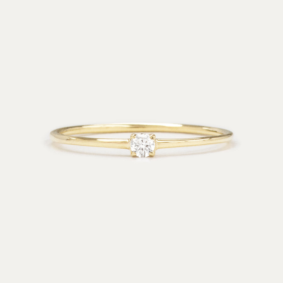 Petite Diamond Ring