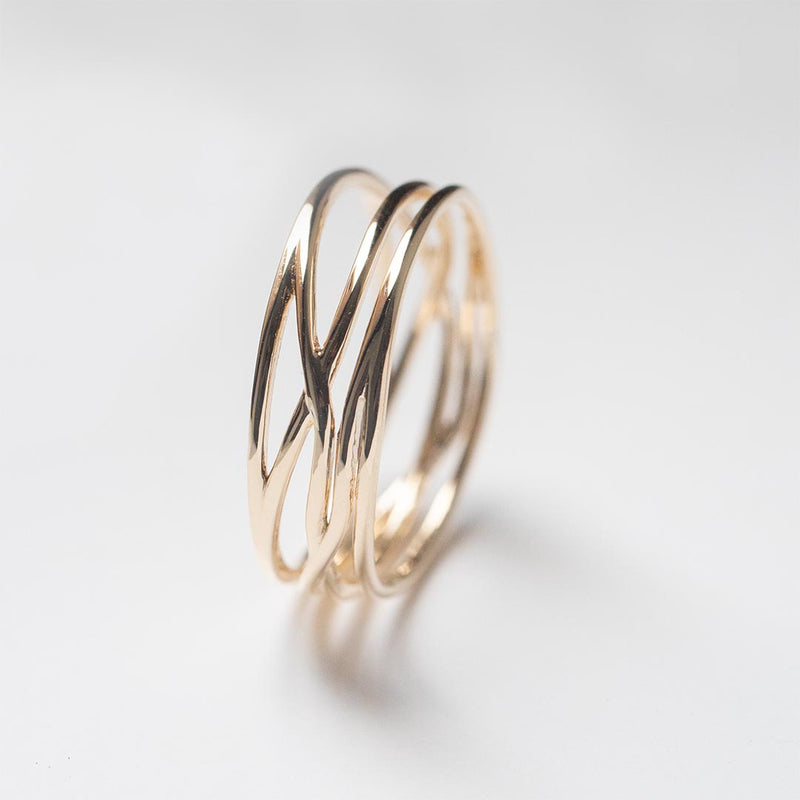 Wide Twisted Ring - 6.25 MM - Sample
