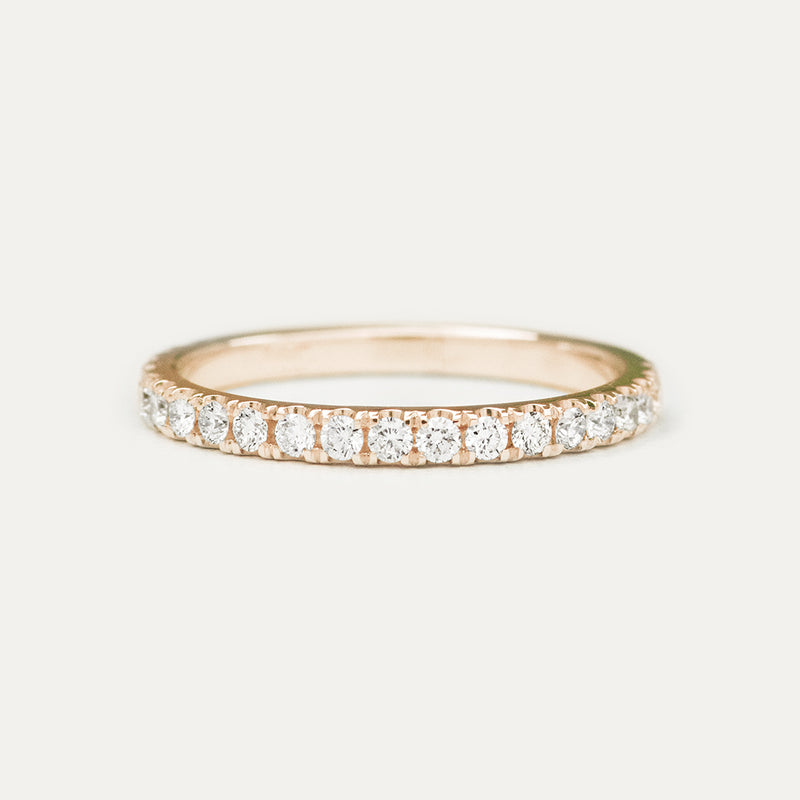 Pavé Diamond Ring - Sample