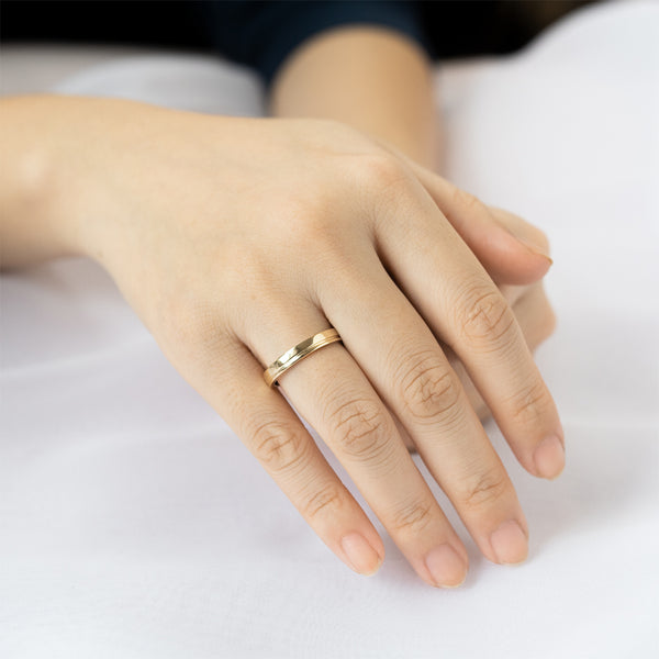 Single Groove Ring - 3 MM
