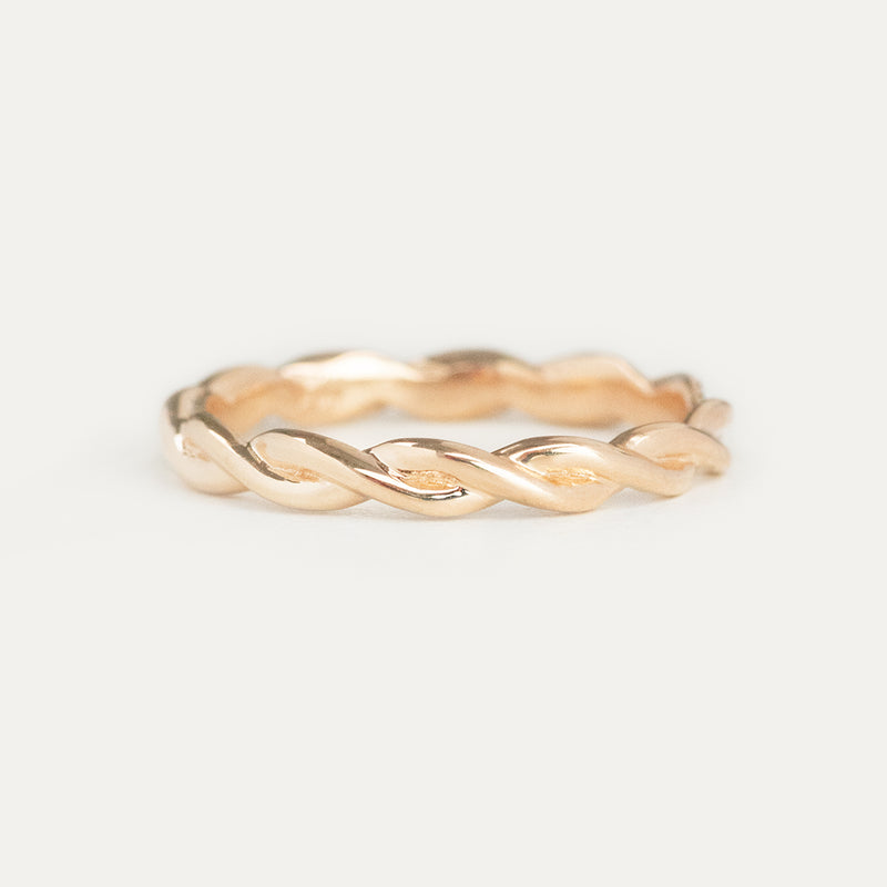 Braided Eternity Ring - 2.75 MM