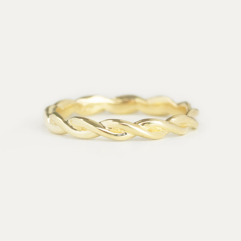 Braided Eternity Ring - 2.75 MM - Sample