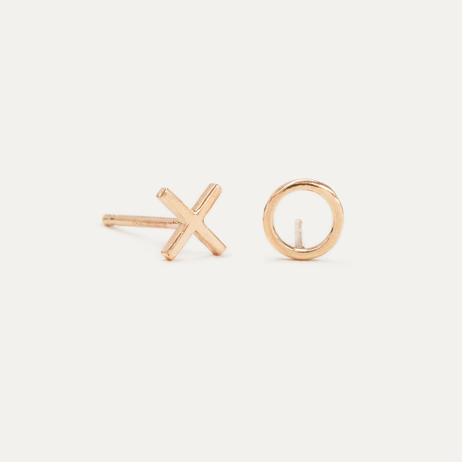 The Exes and Ohs Tiny Stud Earrings