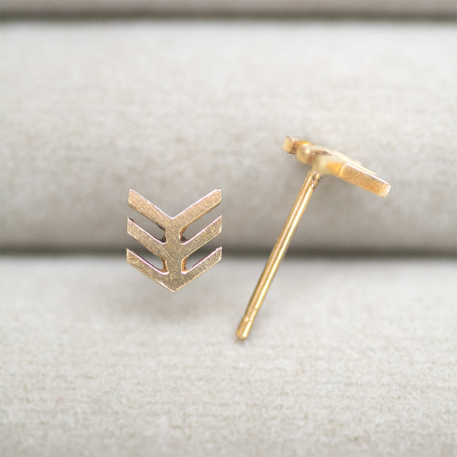 Tiny Arrow Studs