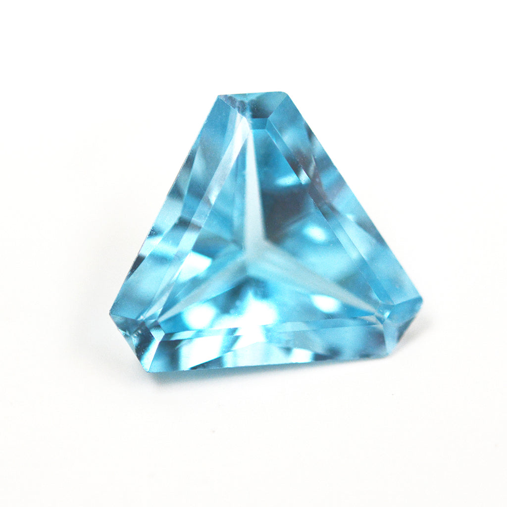 3.83CT Triangle Shaped Aquamarine
