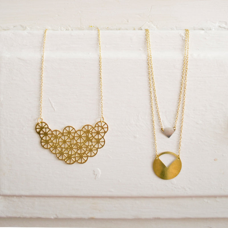 The Missing Piece Necklace Necklace - A Gilded Leaf jewelry
