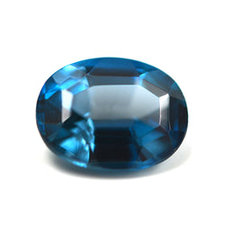 2.50CT Oval Cut London Blue Topaz
