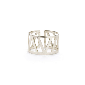 Geometric Cuff Ring Rings - A Gilded Leaf jewelry