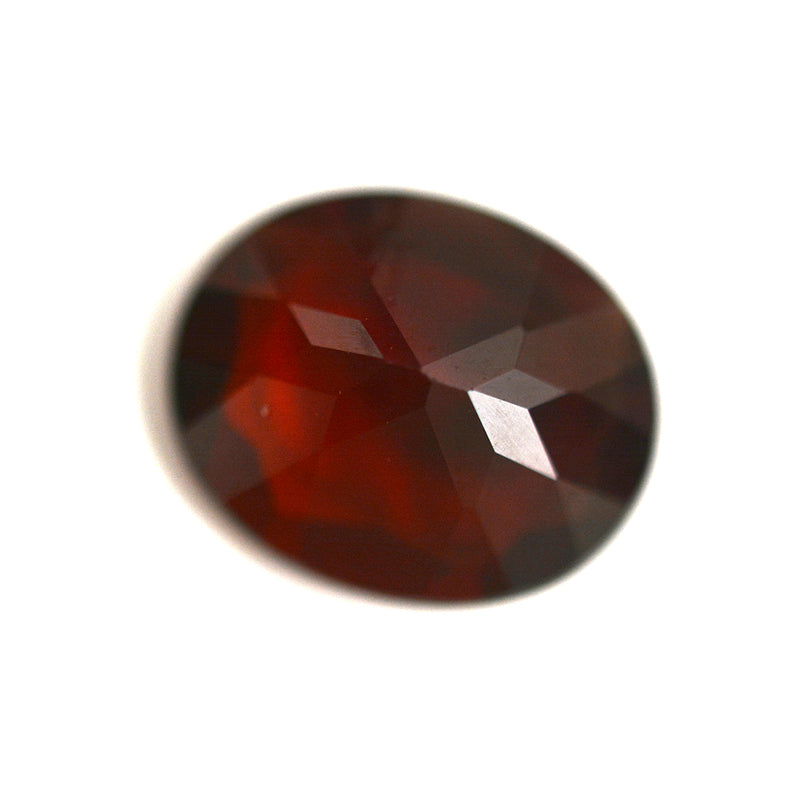 6.21CT Oval Cut Red Garnet