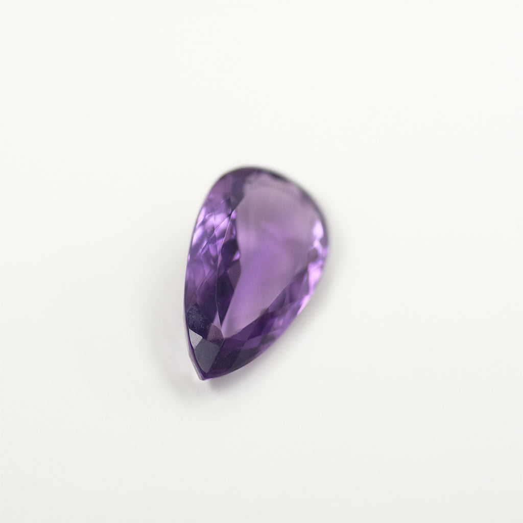 10.40CT Pear Cut Amethyst