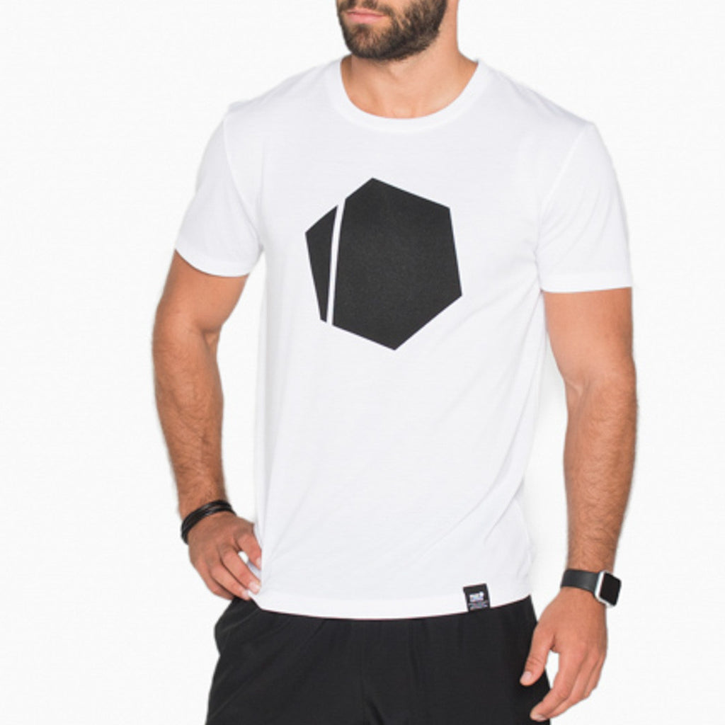 Hexagon Tee 2.0 White