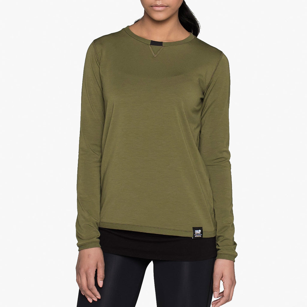 Urban Athlete Longsleeve Urban Green Women